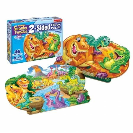 Cheap Fun Patch 1311 Sneaky Floor Puzzle- Dinosaur- Pack of 2 (B005GVBUUC)
