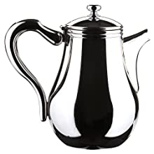 MIU France Stainless Steel Coffee Serving Pot, Silver, 1-Qt.