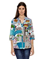 Janis Camisa Estampada (Multicolor)