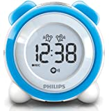 Philips AJ3138 Radio réveil Tuner FM Double alarme Bleu