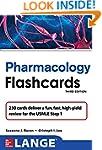 Lange Pharmacology Flash Cards, Third...