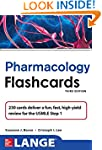 Lange Pharmacology Flash Cards, Third...