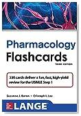 Lange Pharmacology Flash Cards, Third Edition (LANGE FlashCards)