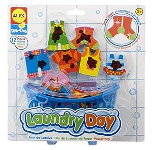 Alex - Día de colada, juguete para baño por Alex - BebeHogar.com