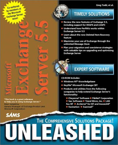 Microsoft Exchange Server 5.5 Unleashed