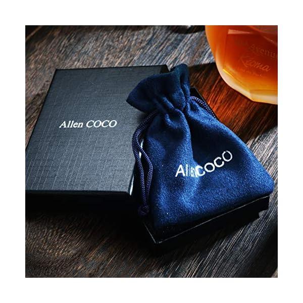 8b199f1b2 AllenCOCO 18K Gold Plated Black Rose Flower Stud Earrings for Women ...