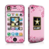 IPhone 4 / 4S skin - Army Pink - High quality precision engineered removable adhesive vinyl skin sticker for the Apple iPhone iPhone 4 / iPhone 4s (8gb / 16gb / 32gb / 64gb)