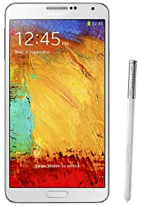Samsung Galaxy Note 3 III N9000 32gb White Factory Unlocked Android Cell Phone