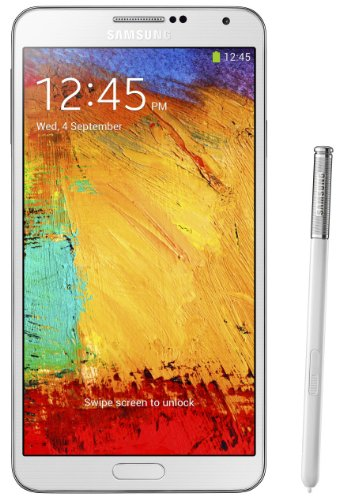 51V2GRclRJL Samsung Galaxy Note 3 III N9000 32gb White Factory Unlocked Android Cell Phone