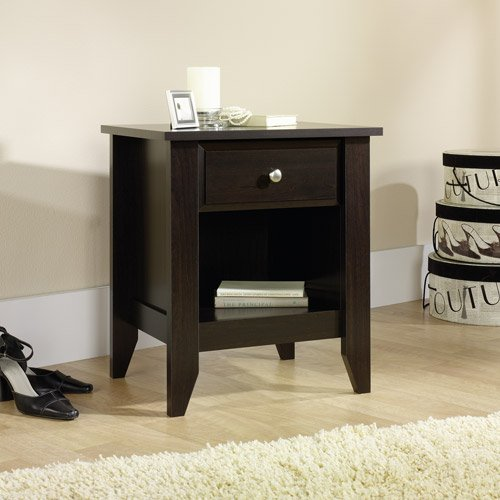 Coordinates with rest of Shoal Creek collection Contemporary design, Nightstand (Kids Espresso Nightstand compare prices)