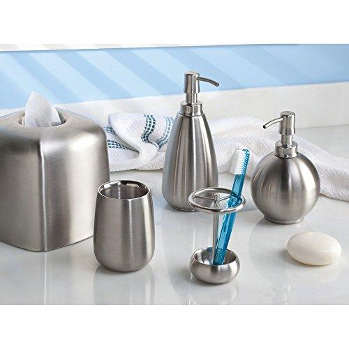 Accesorios De Baño Interdesign:InterDesign Nogu baño vaso taza para encimeras de baño vanidad