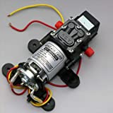 ZJchao(TM) DC 12V 100PSI 4L/Min Diaphragm Water Self Priming Pump High Pressure Car BOAT