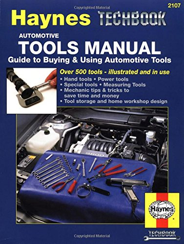 Automotive Tools Manual: Guide To Buying And Using Automotive Tools (Haynes Techbook) front-450903