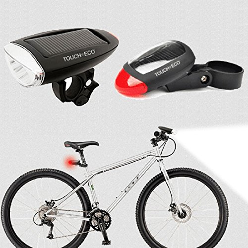 Touch of ECO CYCLELITE - Solar Powered Bike Light