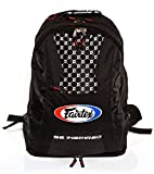 FAIRTEX BACK PACK BAG4 MULTI FUNCTION SPORT BACKPACK BOXING ACCESSORIES (Solid Black)