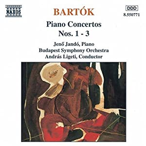 Bartok : Concertos pour piano n° 1 à 3