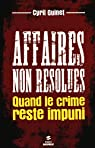 AFFAIRES NON RESOLUES par Guinet