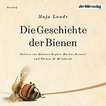 Die Geschichte der Bienen Hörbuch von Maja Lunde Gesprochen von: Bibiana Beglau, Markus Fennert, Thomas M. Meinhardt