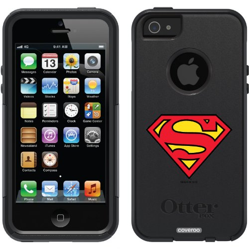 Best Price Superman - Emblem design on a Black OtterBox® Commuter Series® Case for iPhone 5s / 5
