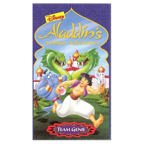 Amazon.com: Aladdin's Arabian Adventures: Team Genie [VHS]: Scott