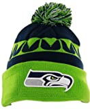 Seattle Seahawks On-Field Sport Knit Hat with Pom at Amazon.com