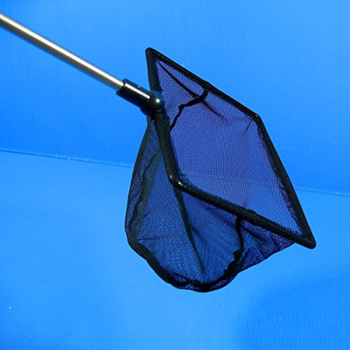 Aquarium-Adjustable-Fish-NET49x39125x10cm-Fine-Mesh-Stainless-steel-handle-Shrimp