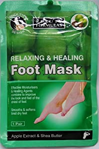 Beauty Formulas Foot Mask - 1 Pair