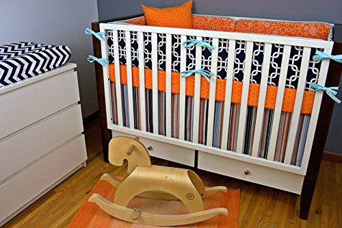Modified Tot Crib Bedding, All Boy