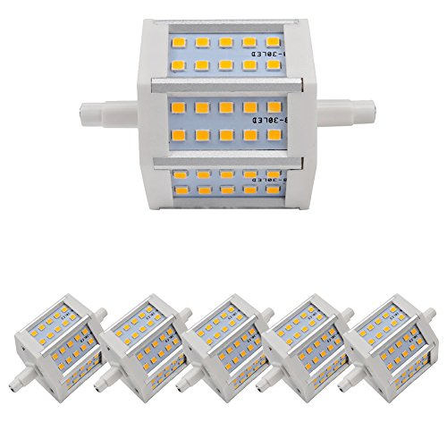 6X R7S Led Bulb 4W Non-Dimmable 360Lm Light Warm White Smd 2835 With Ce And Rohs Ac 85-265 V