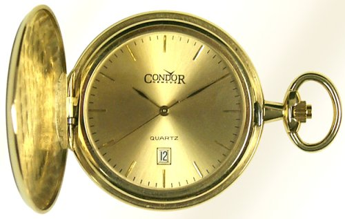 Condor 14K Solid Gold Mens Hunting Case Pocket Watch - PW2003 - Buy Condor 14K Solid Gold Mens Hunting Case Pocket Watch - PW2003 - Purchase Condor 14K Solid Gold Mens Hunting Case Pocket Watch - PW2003 (Condor, Jewelry, Categories, Watches, Men's Watches, By Movement, Swiss Quartz)