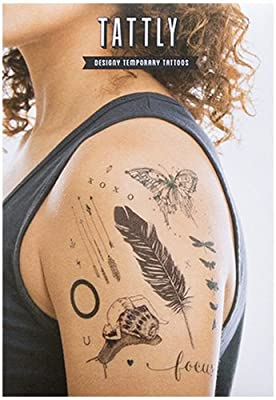 Tattly Temporary Tattoos Remix One Set, 1 Ounce