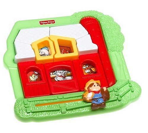 Little People Puzzle: Farm House