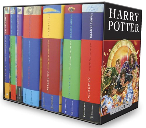Harry Potter Box Set (Harry Potter, #1-7)