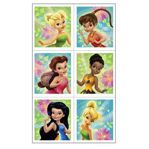 Disney Fairies Stickers Package of 4