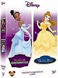 echange, troc La princesse et la grenouille + La Belle et la Bête - coffret 2 DVD
