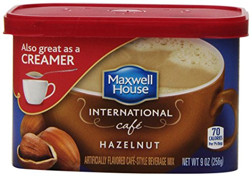 Maxwell House International Coffee Hazelnut Cafe, 9-Ounce Cans (Pack Of 4)