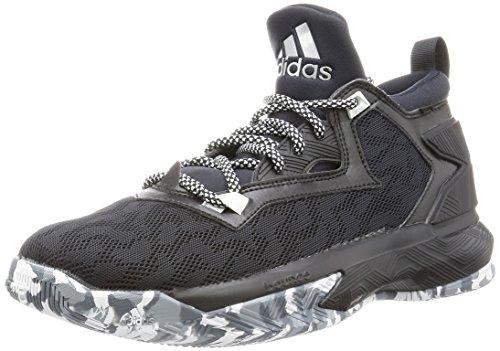 [アディダス] adidas バスケットボールシューズ D LILLARD 2 GIV72 B42383 コアブラック/ランニングホワイト/グレー 28.0