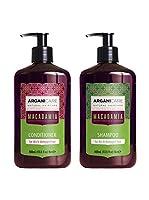 ARGANICARE Kit Capilar 2 Piezas Routine Réparatrice - Argan & Macadamia