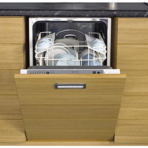 Stoves S450DW Fully Integrated Slimline Dishwasher in Silver