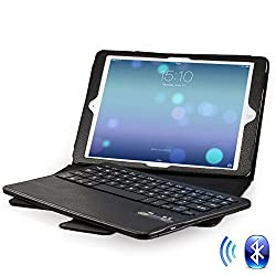 Minisuit Removable Qwerty Keyboard Case for iPad Air 1 & 2 (5th/6th Gen, 2013/2014)