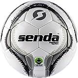 Senda Rapido Match Soccer Ball, Fair Trade Certified, Grey/Dark Grey, Size 5 (Ages 13 & Up)
