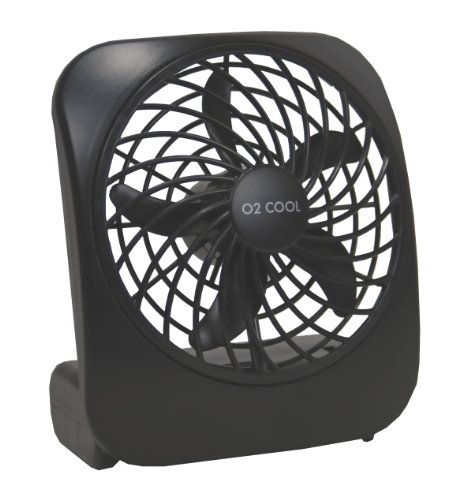Big Save! Portable Battery-Operated Fan (Black)