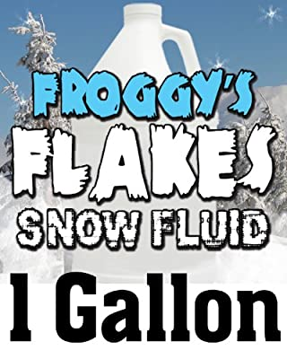 1 Gal - LONG LASTING Snow Juice Machine Fluid - Blizzard Formula by Froggys Fog