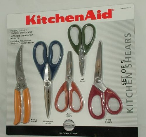 Kitchenaid Kitchen Shears Set Of 5 Compare Prices And Buy