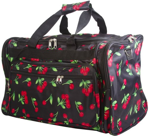 Cherry Duffle Carrying Bag - 22""