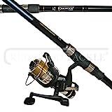 OAKWOOD Carp/Pike Combo 2.75tc Rod & Single Bait Runner Reel With Line Fishing