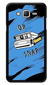 """Humor Gang Oh Snap Camera Lover Printed Designer Mobile Back Cover For """"Samsung Galaxy On7"""" (3D, Glossy, Premium Quality Snap On Case)"""