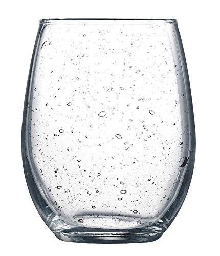 Arc International Bola Perfection Stemless Wine Glass, 9-Ounce, Set Of 12