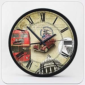 clock home hours decorations watch wall reloj de pared cubiertos