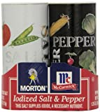 Morton Salt and Pepper, 5.25-Ounce (Pack of 12)
